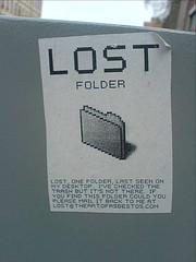 LOST: Folder