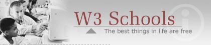 W3 Schools logo